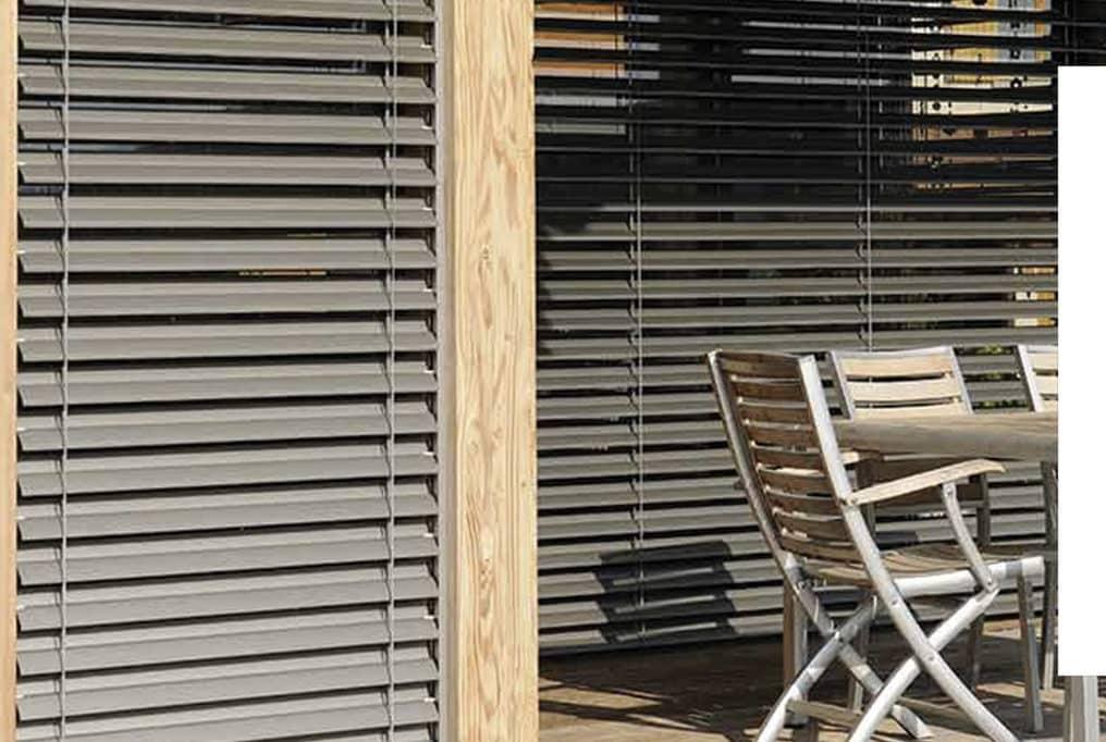 Lyon Jalousie Brise Soleil Orientables Fenêtres Bois