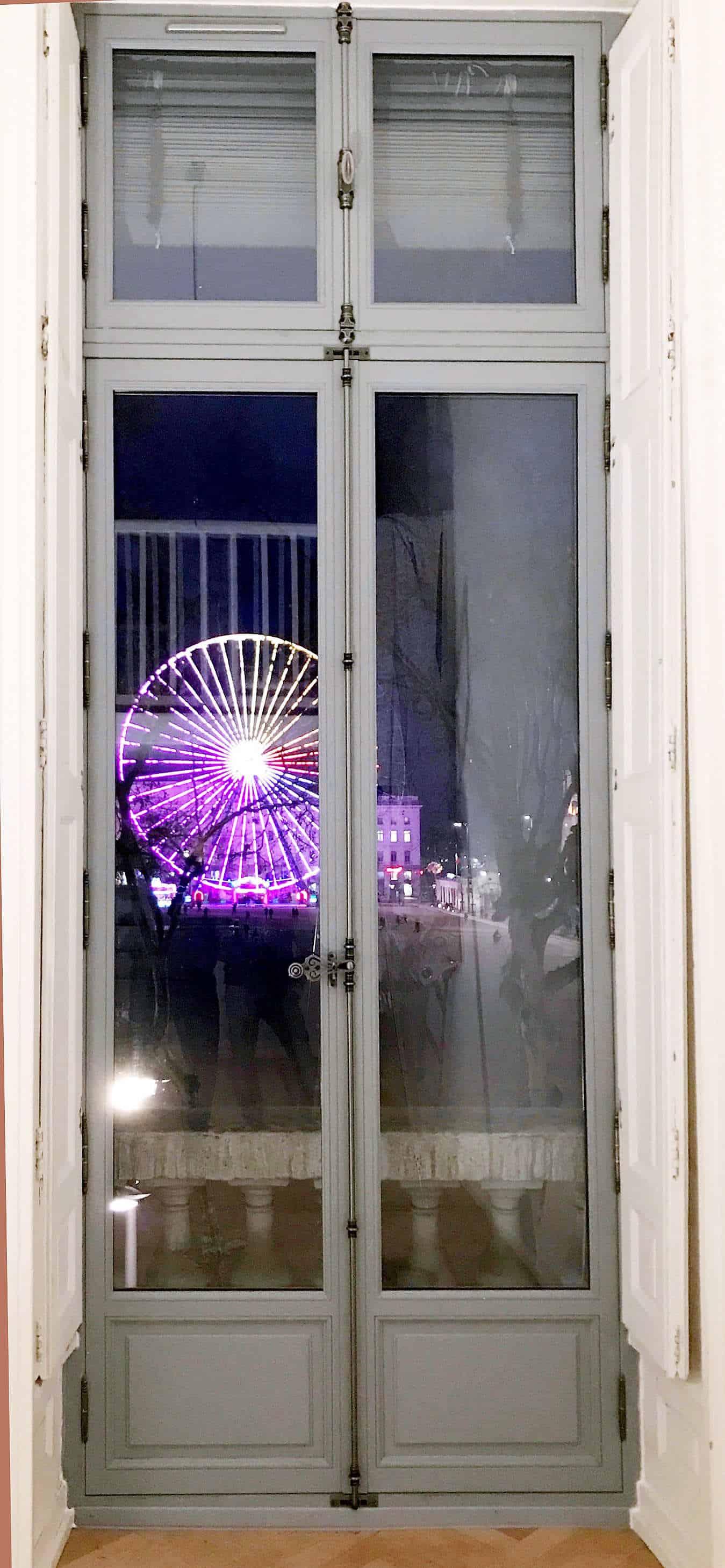Fenêtre Bois Sur Mesure Lyon Jalousie